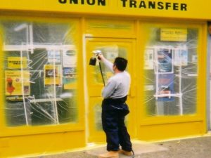 shopfront spraying London